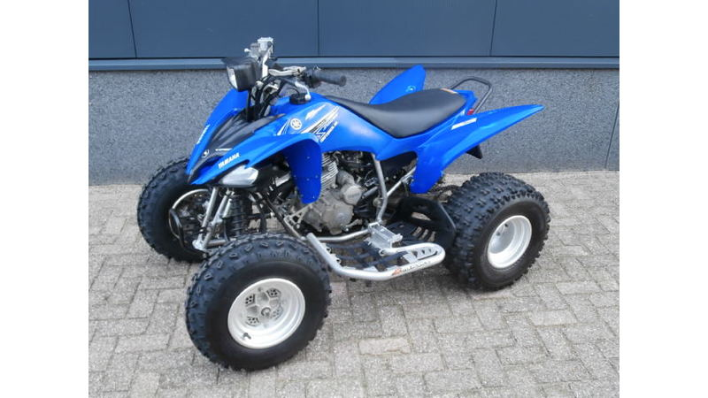 VERKOCHT.....Yamaha Quad YFM 250 Raptor (incl. kenteken)