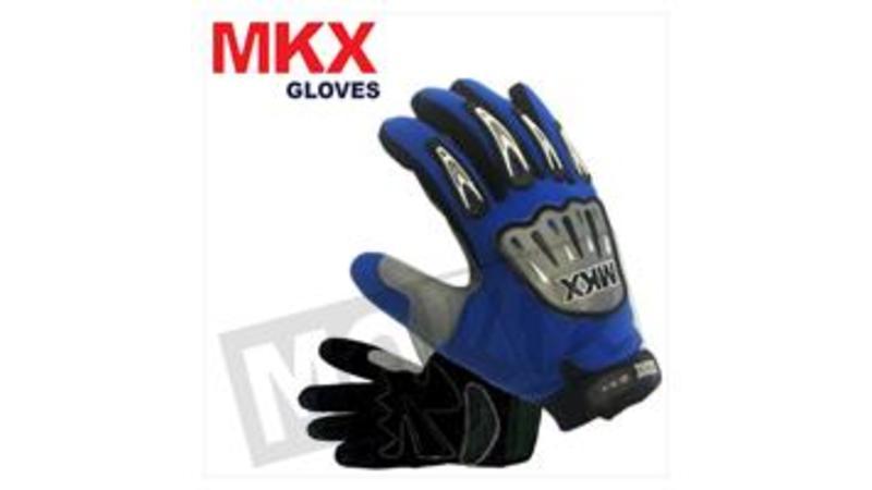 MokixCrosshandschoenen Blauw