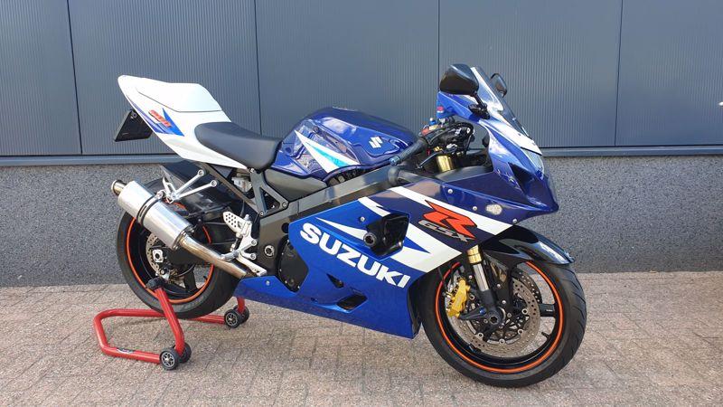 VERKOCHT...Suzuki GSX-R 600 2004