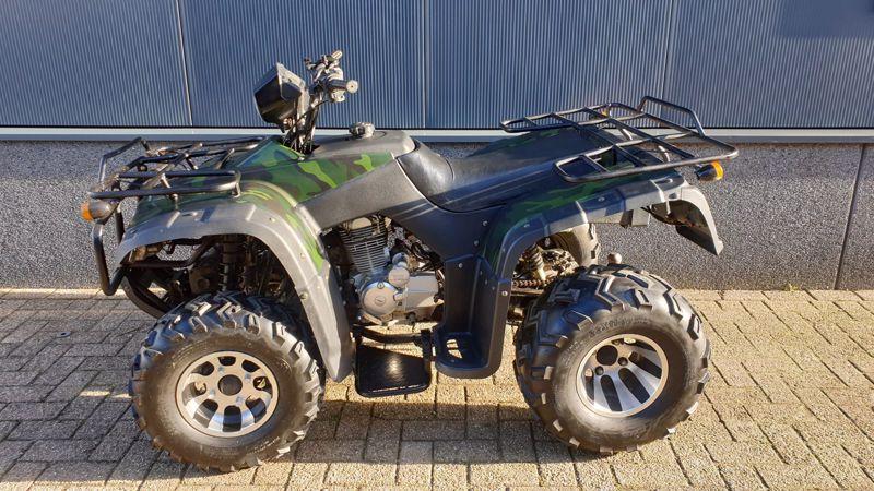 VERKOCHT.......... Lianmei 250 cc  4T