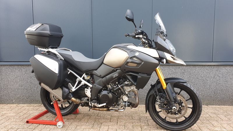 VERKOCHT.....Suzuki  DL 1000 V-Strom