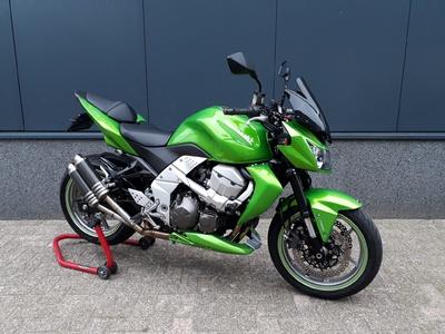 .....Kawasaki Z 750 ABS groen 2007