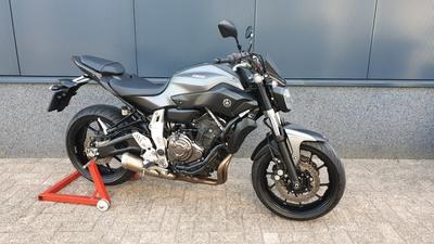 ......Yamaha MT-07 grijs  ABS 2014   a2 / 35kw