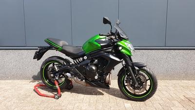 .....Kawasaki  ER-6N groen ABS 2014   (A2 geschikt)
