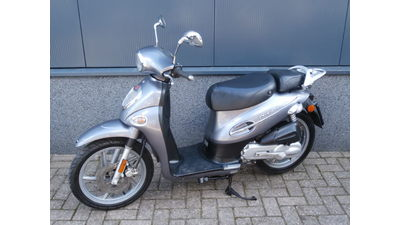 ...Kymco People zilver 25 km/h