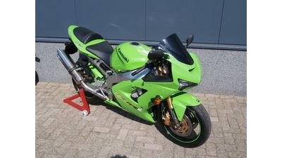 ..Kawasaki ZX6-RR  groen