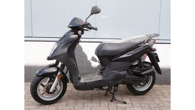 ....SYM Simply  25 km/h zwart 2010