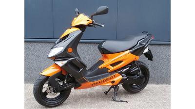 Speedfight II zwart-oranje 25 km/h (nieuwstaat!!)