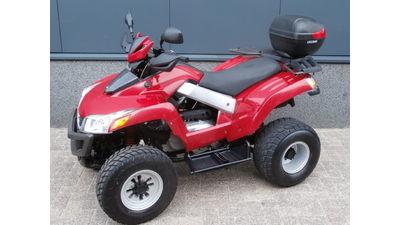 ....SYM Quadlander 250 rood