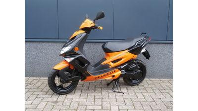 Speedfigt II 45 km/h Oranje-Zwart  2007