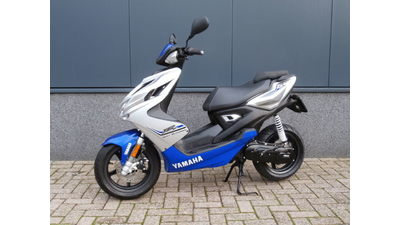 ....Yamaha  Aerox R  2-T blauw 2015