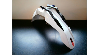 SX 50 voorspatbord wit