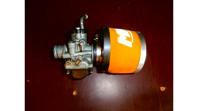 21mm Carburateur + Metrakit powerfilter