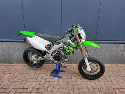 .....Kawasaki KLX450R  Supermotard