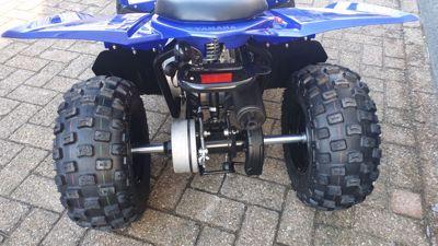 VERKOCHT .....Yamaha YFZ 50