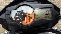 VERKOCHT....KTM Duke 690 ABS 2012