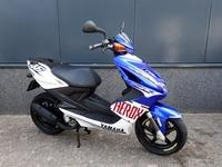 VERKOCHT....... Yamaha Aerox Rossi replica 2008