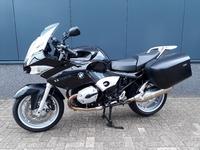 VERKOCHT.....BMW R 1200 ST  ABS zwart  2008 (slecht 8000 km.)