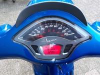 VERKOCHT..... Vespa Sprint  45 km/h blauw 2015