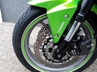 VERKOCHT.....Kawasaki Z 750 ABS groen 2007