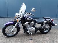 VERKOCHT....Honda Shadow VT 750 C2 ACE  ( A2  rijbewijs )