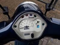 VERKOCHT....Vespa LX 50 4T 45 km/h  blauw