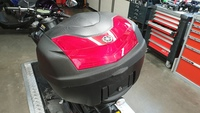 YamahaTopkoffer + drager + achterschermen MT-07 2017