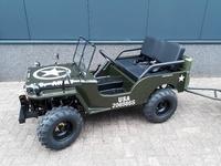 WillysMini Jeeps  150cc full options Geveerd