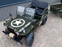 WillysMini Jeeps  150cc full options Geveerd