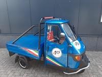 VERKOCHT....Piaggio Ape 50 Anniversary  45 km/h 2012