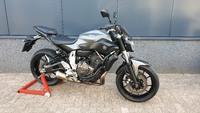 VERKOCHT......Yamaha MT-07 grijs  ABS 2014   a2 / 35kw