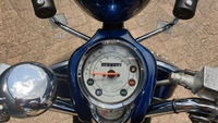 VERKOCHT.....Vespa Lxv  blauw 45 km/h