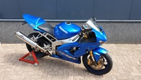 VERKOCHT.....Kawasaki  ZX-6R  Ninja 636 blauw