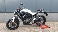 VERKOCHT....Yamaha MT-07 Wit ABS 2017 (a2 / 35kw geschikt)