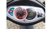 VERKOCHT....Kymco VP50 zwart 2015  45 km/h