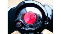 VERKOCHT.......Yamaha Aerox R grijs 45 km/h 2013