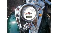 VERKOCHT......Honda VT 750 Shadow ACE groen-creme