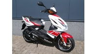 VERKOCHT........... Yamaha Aerox Anniversary edition