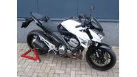 VERKOCHT.....Kawasaki Z800 2013 wit-zwart 70 KW
