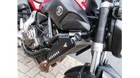 VERKOCHT ....Yamaha MT-07 rood abs 35KW