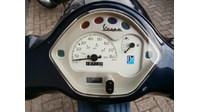 VERKOCHT.....Vespa LX 50 4-takt blauw 45 km/h