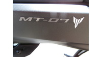 VERKOCHT.....Yamaha MT-07 ABS grey 2014
