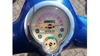 VERKOCHT ....PGO Rodoshow 25 km/h blauw