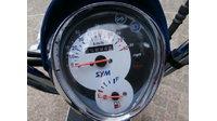 VERKOCHT...SYM Mio 45 km/h blauw-wit 2012