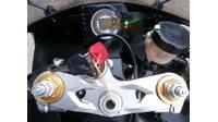 VERKOCHT...........Kawasaki ZX-6R  Ninja 636 zilver 2005
