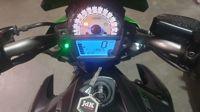 KawasakiER-6N groen ABS 2014   (A2 geschikt)
