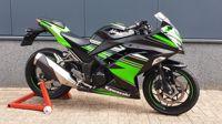 KawasakiZ300 Ninja groen 2017 (A2 rijbewijs)