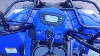 VERKOCHT....Kymco MXU 150 blauw 2018 met kenteken