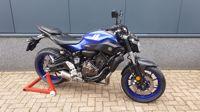 VERKOCHT....Yamaha MT-07 zwart  ABS 2017 (a2 / 35kw geschikt)