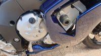 VERKOCHT....Yamaha FZ1 Fazer blauw